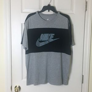 Nike athletic cut tee
